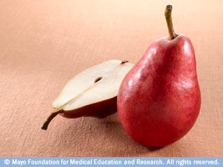 إختاروا الكمثرى، الخوخ أو التفاح