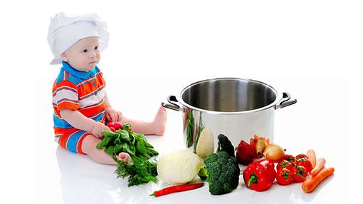 10 طرق للانتقال نحو الطعام الصحي للأطفال!