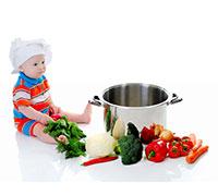 الانتقال نحو الطعام الصحي للأطفال!