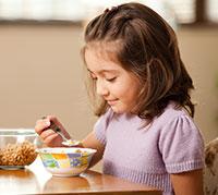 علاقة أنماط تناول وجبة الإفطار مع السمنة عند الأطفال