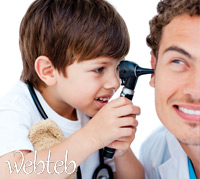 علاج التهاب الأذن عند الأطفال!