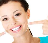 عملية تبييض الأسنان