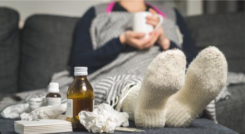 هل أنت عرضة للإصابة بأمراض الشتاء؟