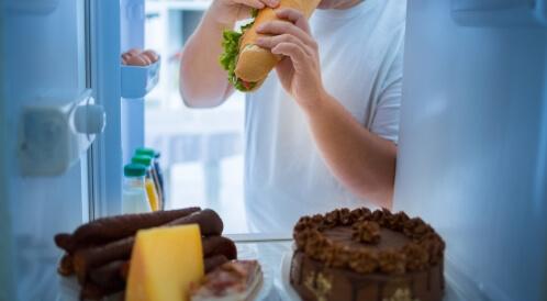 هل أنت مدمن على الطعام؟