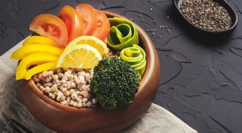هل صحنك يحتوي على كل المكونات الغذائية؟