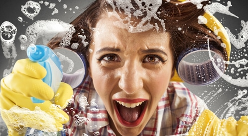 هل انت مهووسة بالنظافة؟