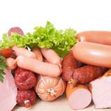 صدور الدجاج، خالية من الدهون، بنكهة المسكيت، مقطعة إلى شرائح