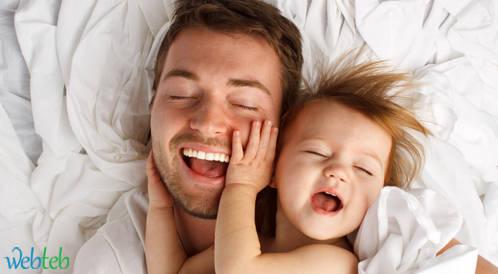 أن تصبح أباً، قد يزيد من وزنك!