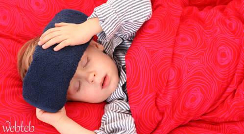 إصابة الاطفال بالانفلونزا تعرضهم للسكتة الدماغية