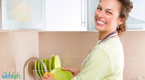 غسل الأواني وتنظيفها يقلل من التوتر!