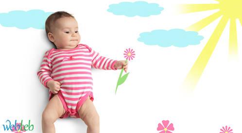 الأطفال الذين ولدوا في الصيف أكثر صحة وطولاً