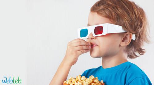 مشاهدة الأفلام تساعد في علاج كسل العين لدى الأطفال