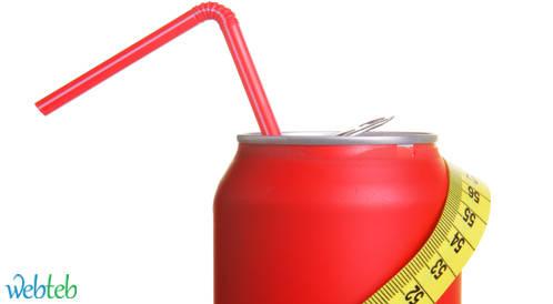 ارتباط استهلاك المشروبات الغازية الخاصة بالحمية مع زيادة محيط الخصر