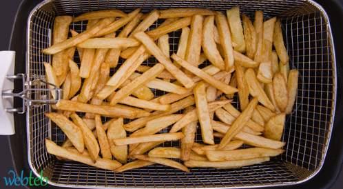 تقرير بريطاني يحذر من الأكريلاميد الذي ينتج عن الأطعمة النشوية المقلية