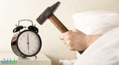 دراسة جديدة: الاستيقاظ باكرا من أجل العمل مضر بالصحة!