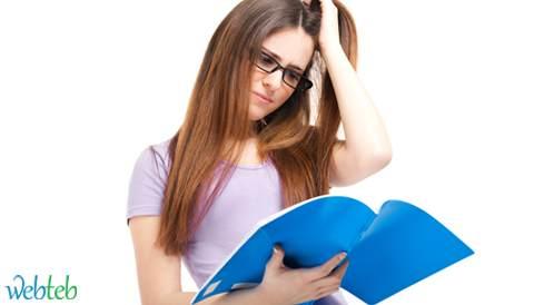 التوتر يؤدي إلى الإصابة بمشاكل جلدية وبالأخص لدى الطلبة الجامعيين