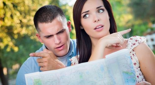 الرجال أفضل من النساء في إيجاد الطرق