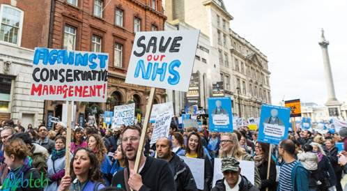الأطباء المبتدئون في بريطانيا سوف يضربون  احتجاجا على الإصلاحات  في ظروف العمل