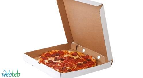 FDA تحظر بعض المواد المستخدمة في صناعة علب حفظ البيتزا