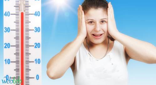 ارتفاع درجة الحرارة يقلل من الشعور بالسعادة