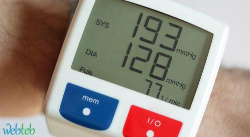 العلاقة بين ضغط الدم وبين الاختلافات المعرفية (Cognitive) خلال 20 سنة!
