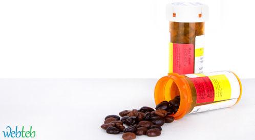الكافيين مع مثبط اكسيداز احادي الامين قد يسبب لارتفاع ضغط الدم الحاد