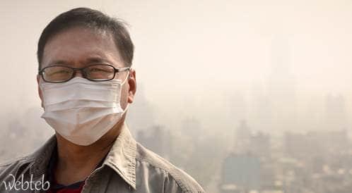 تلوث الهواء يرفع من خطر الإصابة بأمراض القلب