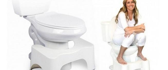 انت تستخدم المرحاض بشكل خاطئ وهذا يضر جهازك الهضمي