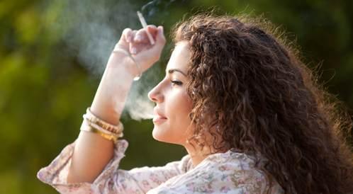 تدخين سيجارة واحدة