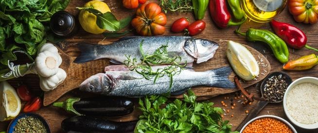 حمية البحر الأبيض المتوسط تحمي دماغك مع التقدم بالعمر
