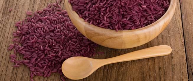 أرز أرجواني لمحاربة السرطان
