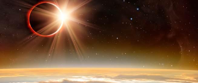 كسوف الشمس 2017 : عيناك في خطر