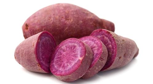 البطاطا الأرجوانية تحارب سرطان القولون