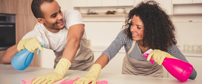 الكشف عن الطريقة المثلى لتنظيف غرف المنزل