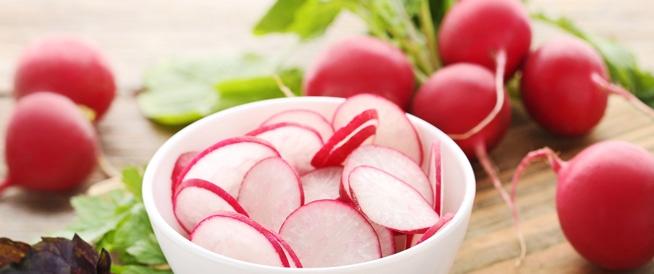 الفجل الأحمر يحمي القلب والأوعية الدموية