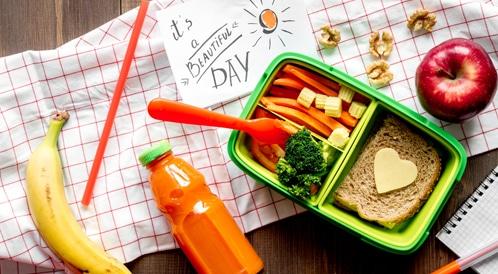 حقيبة الإفطار المدرسية
