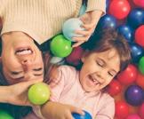 بركة الطابات المخصصة للأطفال