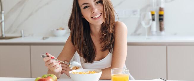 تناول وجبة الإفطار يزيد من حرق الدهون