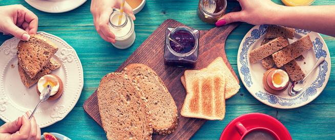 وجبة إفطار كبيرة قد تساعدك في فقدان الوزن