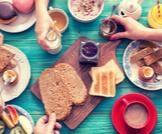 وجبة الإفطار الغنية