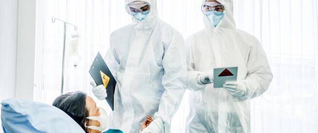هل مريض فيروس كورونا المستجد معدي للغاية؟