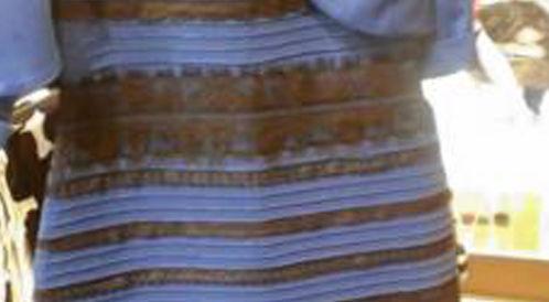 العلماء يشرحون الخدعة البصرية للفستان الازرق