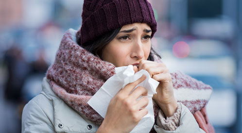هل تعرف الفرق بين نزلة البرد والانفلونزا؟