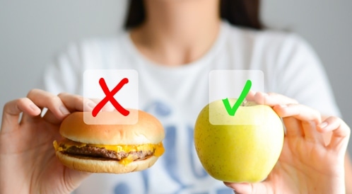 هل تعرف ما هو الغذاء الافضل لصحتك؟