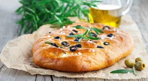 خبز فوكاشيا