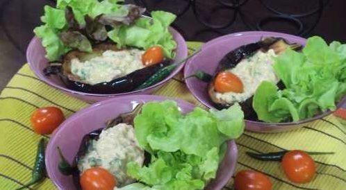 وصفة لتحضير متبل الباذنجان المقلي  بطريقة صحية