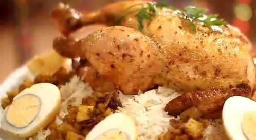 وصفة لتحضير قوزي الدجاج بطريقة صحية