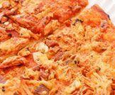 بيتزا دجاج بنكهة الباربكيو