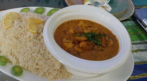 وصفة لتحضير كاري الدجاج مع الآرز بالليمون بطريقة صحية