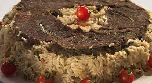 وصفة لتحضير أرز بشرائح اللحم بطريقة صحية
